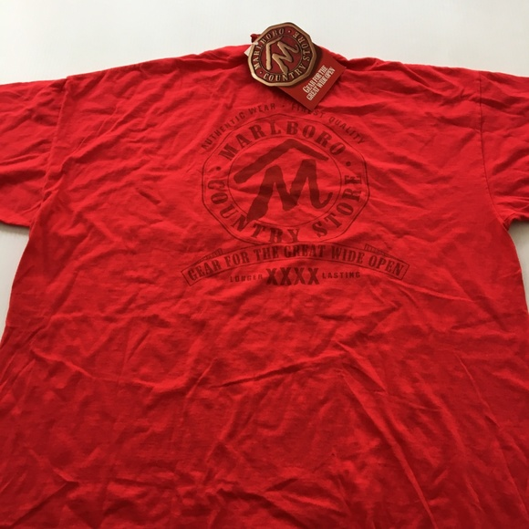 33f5949eee New Vintage Marlboro Tee Graphic NWT 90s Shirt XL